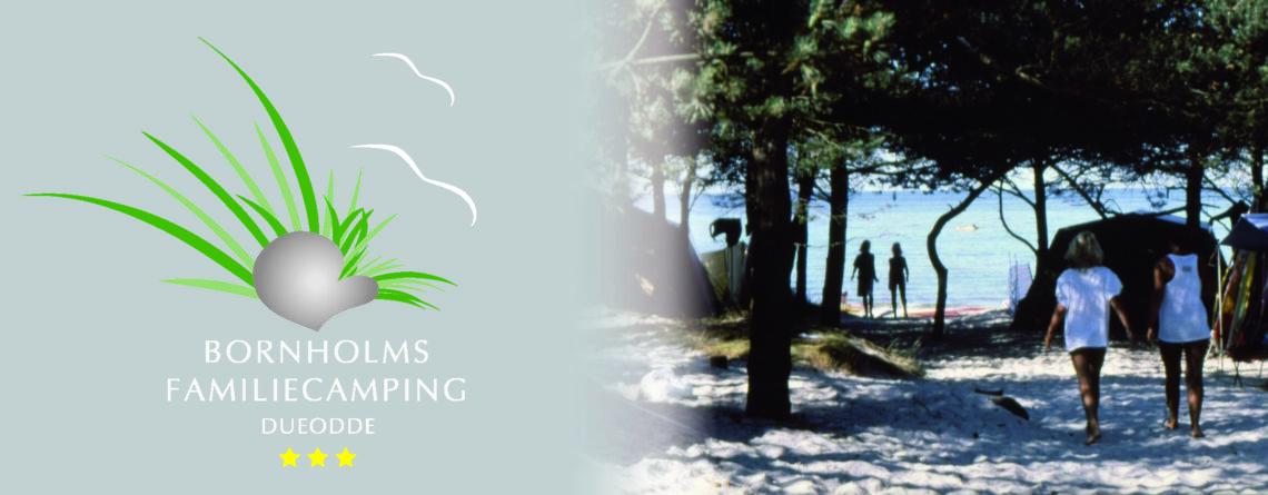 Bornholms Familiecamping 6 Logo/piger